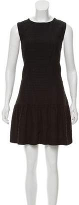 Chloé Sleeveless Jacquard Dress