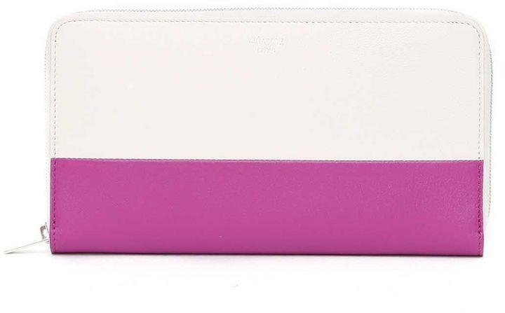CelineCeline Large 'solo' Bicolor Wallet