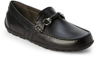 Geox Toddler Boys) Black J Fast Bit Loafers