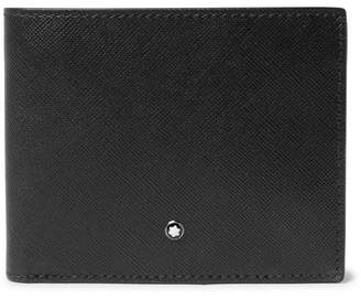 Montblanc Sartorial Cross-Grain Leather Billfold Wallet - Black