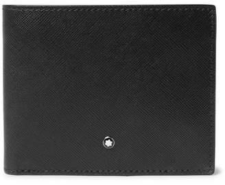 Montblanc Sartorial Cross-Grain Leather Billfold Wallet - Black