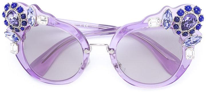 Miu MiuMiu Miu Eyewear cat eye sunglasses