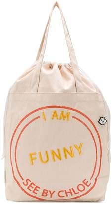 See by Chloe I Am Funny tote bag