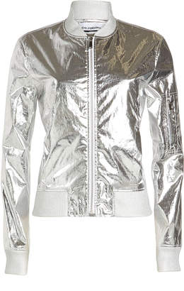 Paco Rabanne Metallic Jacket with Cotton
