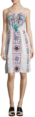 Plenty by Tracy Reese Embroidered Flare Dress