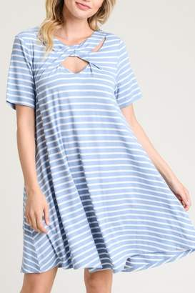 Jodifl Striped Pocket Dress