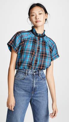 Zero Maria Cornejo Pintuck Gaban Shirt