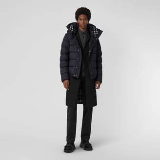 Burberry Detachable-sleeve Down-filled Hooded Puffer Jacket