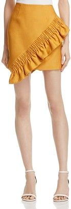 C/MEO Collective Asymmetrical Ruffle Skirt - 100% Exclusive $155 thestylecure.com