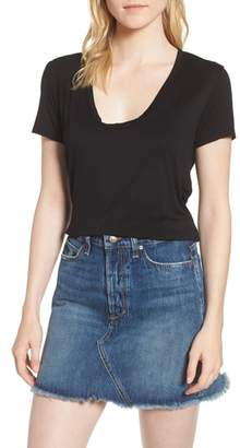 Splendid Deep U-Neck Tee
