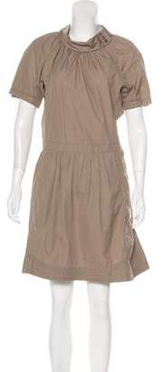 Nina Ricci Short Sleeve Mini Dress