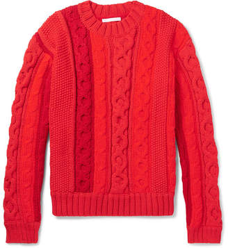 Helmut Lang Cable-Knit Sweater