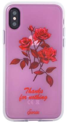 Sonix Thanks for Nothing iPhone X Case
