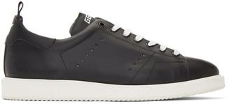 Golden Goose Black and White Starter Sneakers