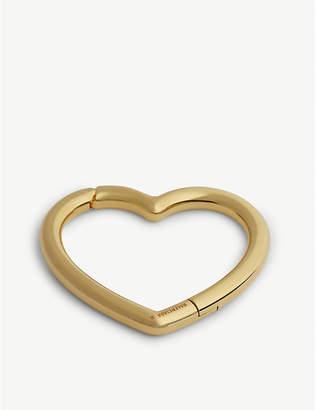 Balenciaga Gold Heart Bracelet