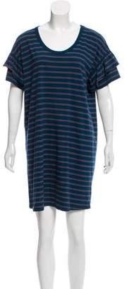 Current/Elliott Striped Shirtdress
