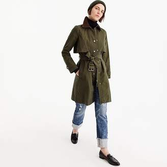 J.Crew Tall field trench coat