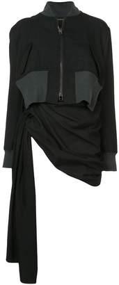 Yohji Yamamoto gathered jacket