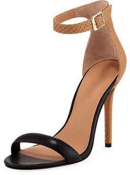 Halston Ester Colorblock High-Heel Sandal