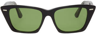 Acne Studios Black Ingridh Cat Eye Sunglasses