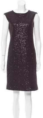 Calvin Klein Collection Sequin Embellished Shift Dress