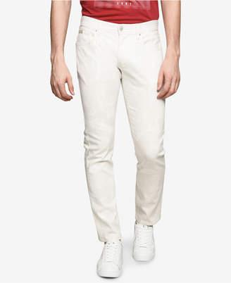 Armani Exchange Men's Slim-Fit Tropical Print Pants