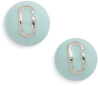 Women's Marc Jacobs Icon Enamel Ball Stud Earrings $45 thestylecure.com