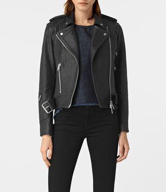 Stayte Leather Biker Jacket $700 thestylecure.com