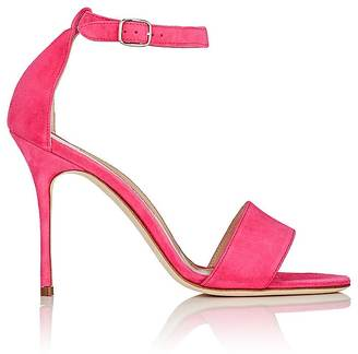 Manolo Blahnik Women's Tres Sandals $745 thestylecure.com