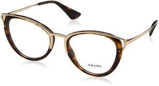 Prada PR53UV Eyeglass Frames 2AU1O1-52 - PR53UV-2AU1O1-52