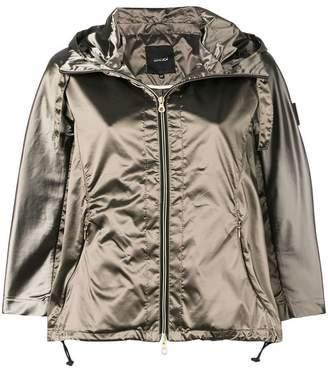 Duvetica metallic hooded jacket