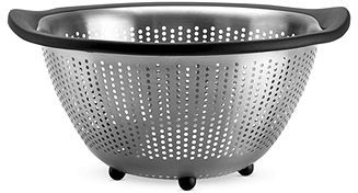 OXO Colander, 5 Qt. Stainless Steel