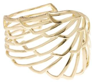 House Of Harlow Angel Wing Cutout Wrap Cuff Bracelet