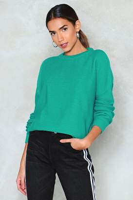 Nasty Gal On a Daily Basis Knit Sweater