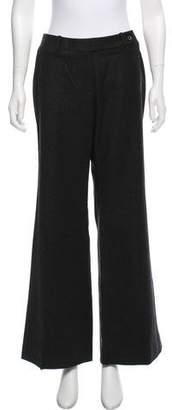 Celine Mid-Rise Wool Pants