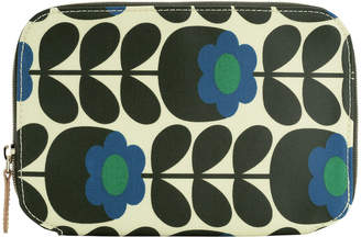 Orla Kiely Primrose Jade Make Up Brush Case