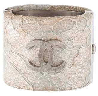 Chanel CC Lace Bangle