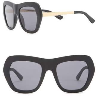 Quay Common Love 60mm Oversized Sunglasses
