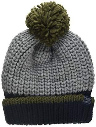 Joules Boy's Bobble Hat,(Size:8-12)
