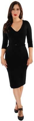 Retrolicious Black Starlet Dress