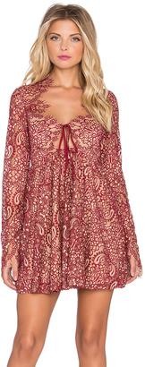 For Love & Lemons Charlie Mini Dress