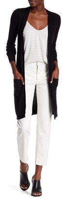 JOSEPH A Pointelle Duster Cardigan $68 thestylecure.com