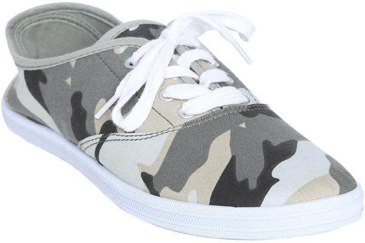 Wet Seal Camouflage Tennis Shoe