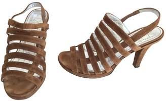 Free Lance Velvet sandals