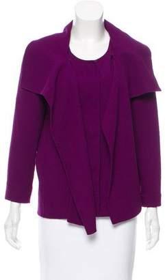 Oscar de la Renta Structured Wool Jacket