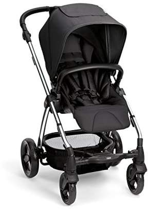 Mamas and Papas Sola2 Lightweight Pushchair with Dual Position Seat, Compact Fold & Dual Suspension Wheels – Black