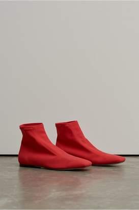 Rosetta Getty Flat Ankle Boot