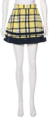 Thom Browne Wool Plaid Skirt $195 thestylecure.com