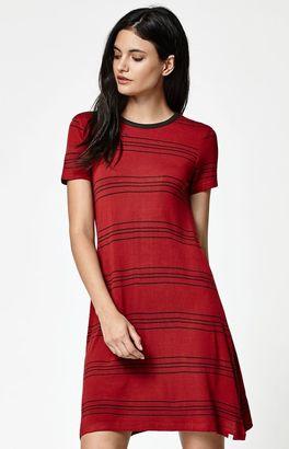 Element Kit Stripe Short Sleeve Dress $45 thestylecure.com