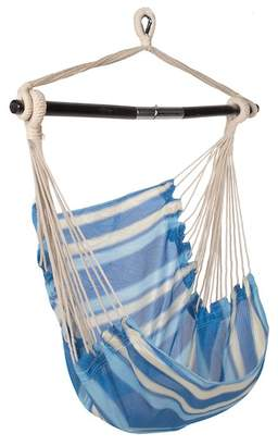 Bliss Hammocks Breathable Ocean Blue Stripe Hammock Chair